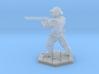 Bull Gunner (28mm Scale Miniature) 3d printed