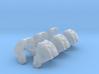 Standard Mech Curved Shoulder November 1 3d printed