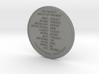 170427 ShmooCoin 3d printed