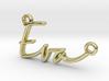 Eva Script First Name Pendant 3d printed