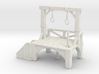 S Scale Gallows 3d printed This is a render not a picture