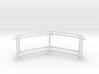 6' Fence Frame 60 deg. Corner (2ea.) 3d printed Part # CLBF-003