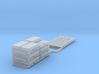 Pallet of Bags (HO) 3d printed Part # PB-001