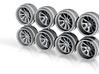 F InfernoT 11mm Hot Wheels Rims 3d printed