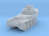 Flakpanzer 38 t scale 1/144 3d printed