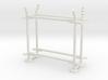 10' Fence Frame - 45 deg L/In (2 ea.) 3d printed Part # CL-10-001