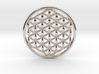 "Flower Of Life (no bale) 1.4""  3d printed"