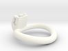 Cherry Keeper Wide Oval Ring - 45mmx40mm 3d printed