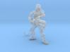 Female jungle fighter heavy flamer  3d printed