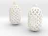 Seed Mesh Earring 3d printed