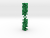 Parabolic Rotini Earrings 3d printed