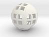 Spherical pencil holder 3d printed