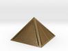 Golden Pyramid Star Tetrahedron ultra detail 3d printed