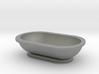 Scale Model Modern Bathroom Tub  3d printed