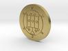 Furcas Coin 3d printed
