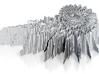 Mandelbrot Art 3D Design 3d printed