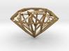 Geometric Diamond Pendant 3d printed