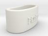 PEDRO 3D Napkin Ring with lauburu 3d printed