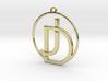 J&D Monogram 3d printed