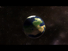 Full-Colour Earth Analog Planet  3d printed
