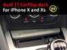 Audi TT CarPlay dock for iPhone X and XS 3d printed Audi TT CarPlay dock for iPhone X and XS finally available!