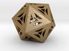 Decorative Icosahedron 3d printed