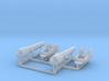 2 X 1/150 Navy Parrott 150 lb Rifled Cannon 3d printed