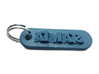 AIMAR Personalized keychain embossed letters 3d printed
