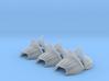 6x Flesh Eater Shoulder Armor / Pauldron No. 1 3d printed Flesh Eater Pauldron Armor