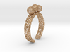 Voronoi fidget ring. Size 5 17.58 mm with three sp 3d printed
