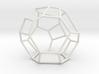 """Irregular"" polyhedron no. 5 3d printed"