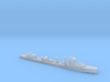 HMS Vega 1:3000 WW2 naval destroyer 3d printed