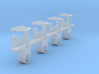 AB03 - FR Axlebox for wooden framed wagons(SM32) 3d printed