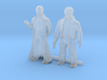 O Scale Male Robbers 3d printed This is render not a picture