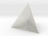 Small Ribbed Hemicube Tetrahedron 3d printed