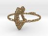 voronoi yoga pendant/earring 3d printed