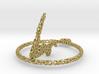 voronoi yoga earring pendant 3d printed