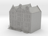 Canal houses Amsterdam Prinsengracht (small) 3d printed