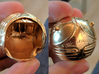 Golden Magical Ball Ring Box (Front half) 3d printed