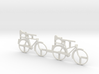 O Scale Bicycles 3d printed This is a render not a picture