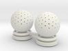 aquarium air bubbler sphere qty 2 3d printed