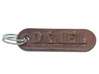 DANIEL Personalized keychain embossed letters 3d printed