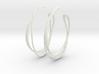 Cosplay Looped Hoop Earrings (no post) 3d printed
