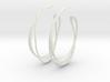 Cosplay Looped Hoop Earrings 3d printed
