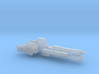 UNSC Paris class frigate high detail 1:700 scale 3d printed