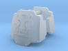 Commission 64 MkX dreadnought shoulder pads 3d printed