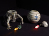 BYOS SHIP 3 3d printed Model painted with led -not included-.