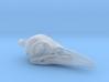 Crow Pendant 3d printed