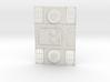1/16 Panther D Enigine Deck 3d printed