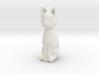 Cat statuette, 1:12 scale, 3cm tall 3d printed
